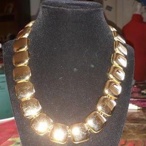 1980's vintage gold necklace